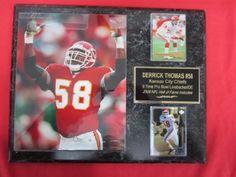 Derrick Thomas Kansas City Chiefs Plaques