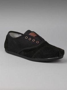 TOMS Shoes Men Cordones Black Marquez