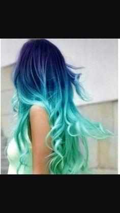 Cabelo azul ☆