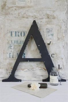 decorate with letters