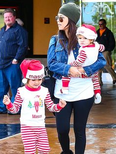 Star Tracks: Monday, December 2, 2013 | HOLIDAY SPIRIT | Kourtney Kardashian has some little helpers of her own! The Keeping Up with the Kardashians star steps out with her stripe-loving duo – son Mason, who turns 4 Dec. 14, and daughter Penelope, 16 months – in Calabasas, Calif., on Friday.
