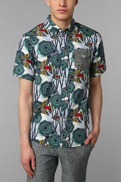 Staple Terrapin Woven Shirt #urbanoutfitters