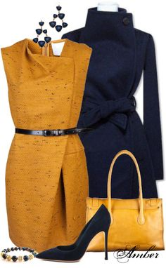 """""""Asymmetric Fold Dress"""" by stay-at-home-mom on Polyvore"""
