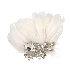 Lilybella Tiffany Feather Birdcage Veil - Bridal Jewellery - Crystal Bridal Accessories