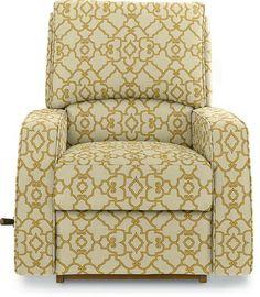 Cole Reclina-Glider® Swivel Recliner by La-Z-Boy custom cover in  sc 1 st  Pinterest & The Dump Furniture - BLACK LEATHER RECLINER | house ideas ... islam-shia.org