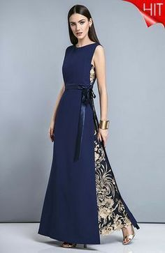 Beauty dress with textured embroidery Trendy Dresses, Elegant Dresses, Beautiful Dresses, Formal Dresses, Amazing Dresses, Dresses Dresses, Formal Wear, Hijab Fashion, Fashion Dresses