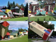 Stuart Landsborough's Puzzling World,  New Zealand