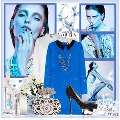 """Stella Blue"" by marija-lola-grujicic on Polyvore"