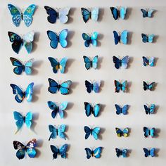 Magnetic butterfly stickers Wall Decorative Stickers DIY wall stickers home decoration adesivo de parede Diy Wall Stickers, Decorative Stickers, Butterfly Wall Decor, Magnets, Bird, Decor Ideas, Home Decor, Wall Tile Adhesive, Stickers
