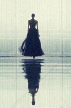 Pari Dukovic from the Christian Dior show in Paris