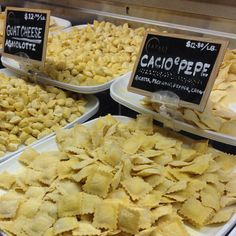 Eataly NYC 200 5th Ave. (btwn 23rd and 24th)  Love their pasta selection among other things.
