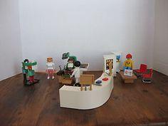 ebay: Playmobil 3762 Dentist Office Waiting Room Klicky Rare Vintage