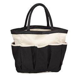Travelwell Garden Tool Tote Home Organizer -Black Travelwell Made of 12 oz Cotton canvas mixed with polyester Surrounded with three gusseted pockets Spacious main compartment Product size: x x Garden Tool Organization, Garden Storage Shed, Outdoor Storage Sheds, Storage Shed Plans, Outside Storage Bench, Hose Storage, Vertical Pallet Garden, Pallets Garden, Storing Garden Tools