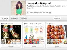 Kassandra Camponi | Community Post: 65 Innovative And Creative Pinterest Accounts That Will Improve Your Life
