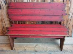 Wood Barn Wood Bench Bench Western Bench by WorkHorseFurniture, $350.00