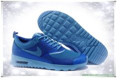 pretty nice 20967 961d8 Sapphire azul   azul Nike Air Max Thea Print 599409-005 comprar zapatillas  baratas