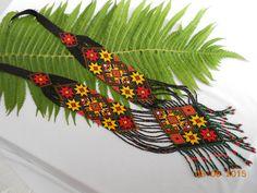 Gerdan Мagic potion .Ethnic bead necklace  beaded от HardangerUA