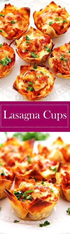 Lasagna Cups – Lady Warrior Lasagna Cups Warm, cheesy, and healthy are a perfect way to describe one of lives most loved meals, LASAGNA! Pasta Recipes, Appetizer Recipes, Cooking Recipes, Thermomix Recipes Healthy, Healthy Lasagna Recipes, Warm Appetizers, Catering Recipes, Catering Food, Catering Ideas