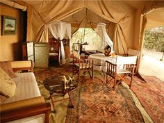 SAFARI TENTS contact | Safari directory | African Safari Tents | You could use one for an outdoor room:)
