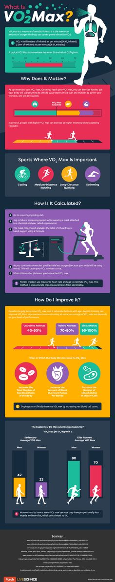 Here's a look at how VO2 max works and why it matters for everyday life and your exercise routine.