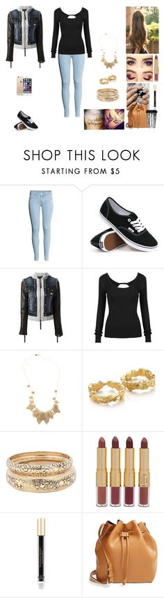 """The Twin Alpha's #19"" by jazmine-bowman on Polyvore featuring H&M, Vans, Philipp Plein, Alighieri, Forever 21, tarte, Victoria's Secret, Sole Society and Dot & Bo"