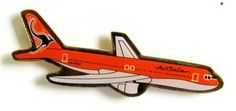 Australian Airlines B767-300 Pin Australian Airlines, Pin Badges, Aircraft, Wings, Aviation, Planes, Feathers, Feather, Airplane