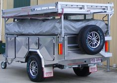 Excalabar 'STAIRCASE' OFF-ROAD Camper Trailer | Excalabar Staircase