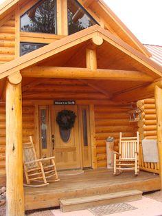 Beautiful log cabin home
