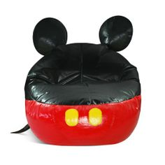 Mickey Mouse is Disney's most beloved and recognizable character. Mickey Mouse chairs are available in a variety of colors, shapes and sizes. We have a Mickey Mouse sofa in our living room. Mickey Mouse Room, Mickey Mouse Classroom, Disney Classroom, Future Classroom, Classroom Ideas, Minnie Mouse, Childrens Bean Bags, Disney Furniture, Boys Furniture