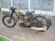 A lovely unrestored 1951 Royal Enfield J2