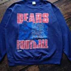 Vintage ©1990 Chicago Bears  Size L 50:50 VGC  75$ shipped Wa : +62-82261680430