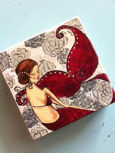 Check out this item in my Etsy shop https://www.etsy.com/listing/172386785/eliza-6x6-original-mixed-media-painting