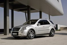 The Mercedes Benz M-Class ML63 AMG. Few can afford it. Even fewer deserve it.