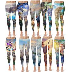 Disney leggings#2 - outfits#10 by mrs-5sos-fran on Polyvore featuring polyvore, fashion and style