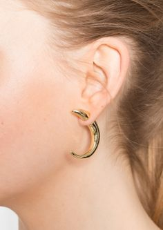 & Other Stories | Crescent Push-Back Earrings