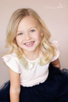 Little Blonde  Beauty | Modeling shots | South Florida Child Photographer