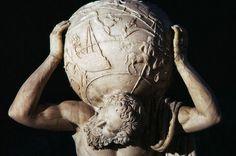 La parola Atlante ha una origine mitologica e deriva dal nome proprio di uno dei Titani.