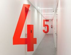Signage and Wayfinding for Innovation Center