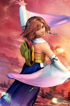 Yuna Final Fantasy X, favourite game <3 such a geek for it