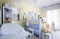 Nurturing Nursery Room Designs: Top Eight Things for Your Baby... Love Peter Rabbit decor, feels so homey