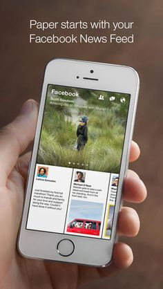 Facebook's new Paper app gives you the news you want, the way you want it.