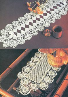 Photo from album on Yandex. Crochet Books, Views Album, Doilies, Table Runners, Yandex Disk, Simple, Handmade, Albums, Archive