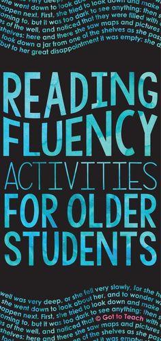 Reading fluency is a