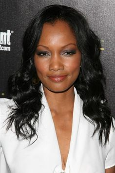 Garcelle Beauvais sexy, wavy hairstyle