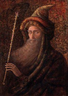 """HERNAN VALDOVINOS, """" ATARAXIAS"""", (Internal splendor Wizard King)"""