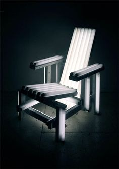 White Electric Chair: By Ivan Navarro.