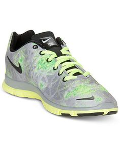 Nike Womens Shoes, Free TR Fit 3 Print Sneakers - Finish Line Athletic Shoes - Shoes - Macys