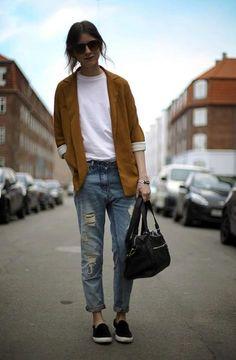 Fall/Winter 13 tomboy chic. #seavees #chukka #streetstyle www.seavees.com