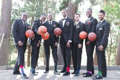 groomsmen socks wedding party themed wedding basketball wedding - Wedding Photography in San Francisco and the Bay Area | YourDreamPhoto