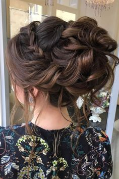 Crown braided updo bridal hairstyle inspiration #weddinghair #updo #upstyle #weddinghairstyle #hairstyle #hairideas #updohairstyle